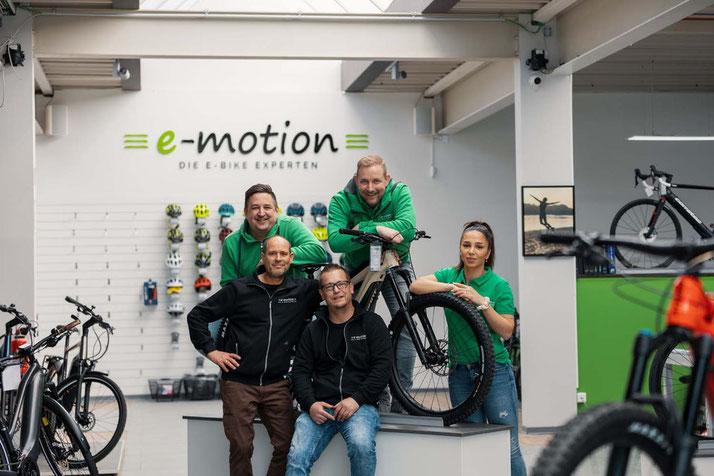 Das Team des Dreirad-Zentrums Olpe