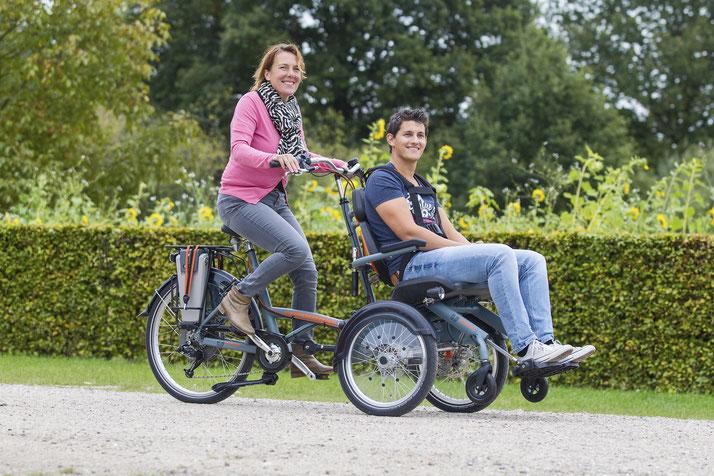 Fun2Go: Das Dreiradtandem für Blinde