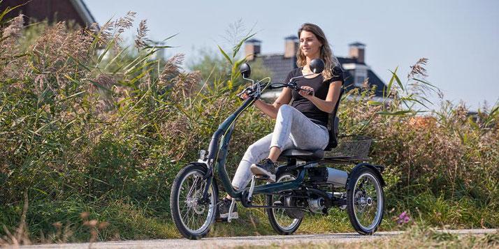 Dreirad und Elektro-Dreirad Versicherung im Dreirad-Zentrum Freiburg-Süd