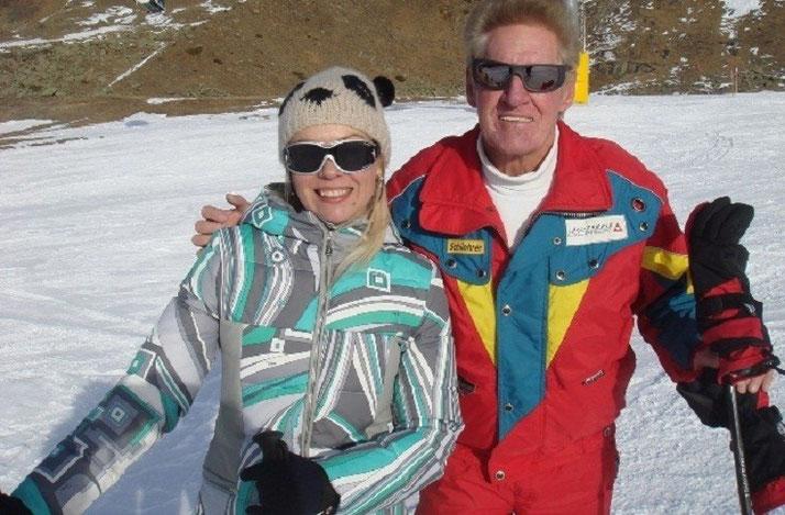 Skikurs mit dem Chef