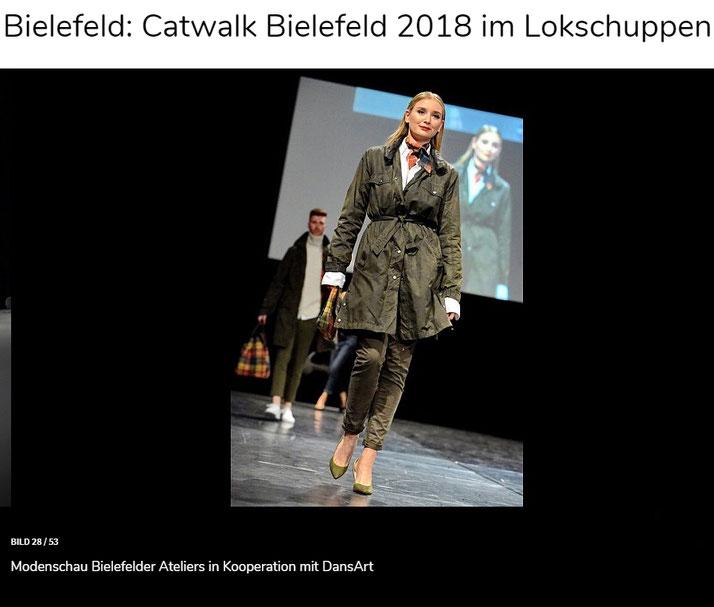 Modenschau Bielefelder Catwalk 2018