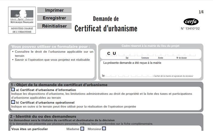 Plu Cu 1 0 Le Conseil D Etat Limite Les Effets Du Certificat
