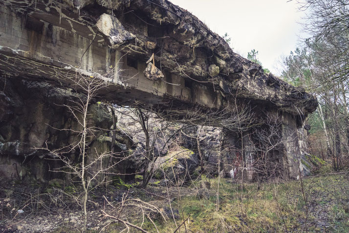 Maintenance Bunker of a WWII Research Station in Eastern Germany
