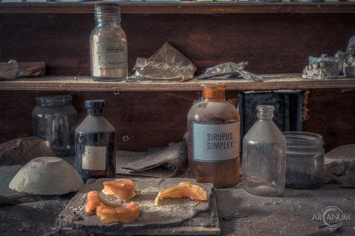 Abandoned Dental Clinic in Pripyat   Verlassene Zahnklinik in Prypjat