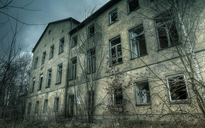 Abandoned hospital in Eastern Germany