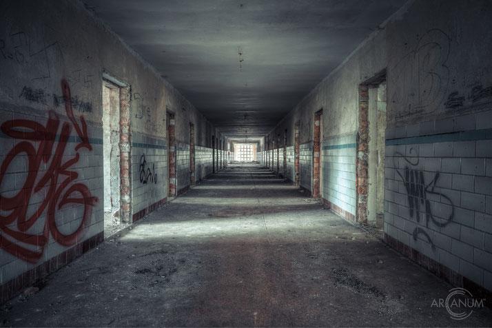 Abandoned school in Eastern Germany