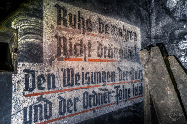 Air Raid Shelter below Berlin | Luftschutzbunker in Berlin