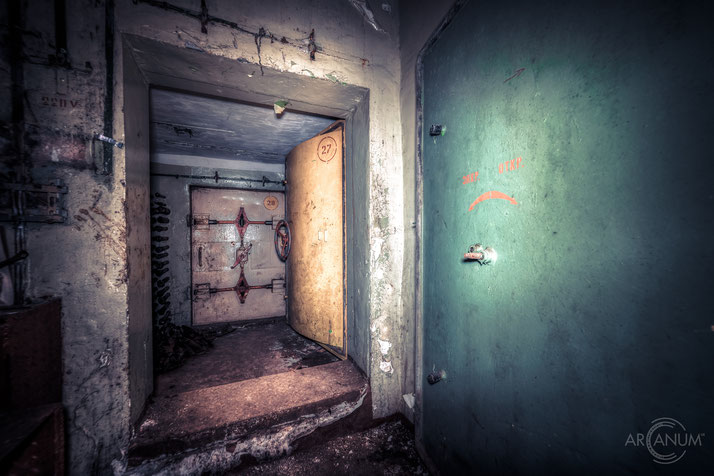 Soviet Communications Bunker in Eastern Germany