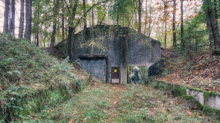 Soviet Nuclear Weapons Depot near Berlin