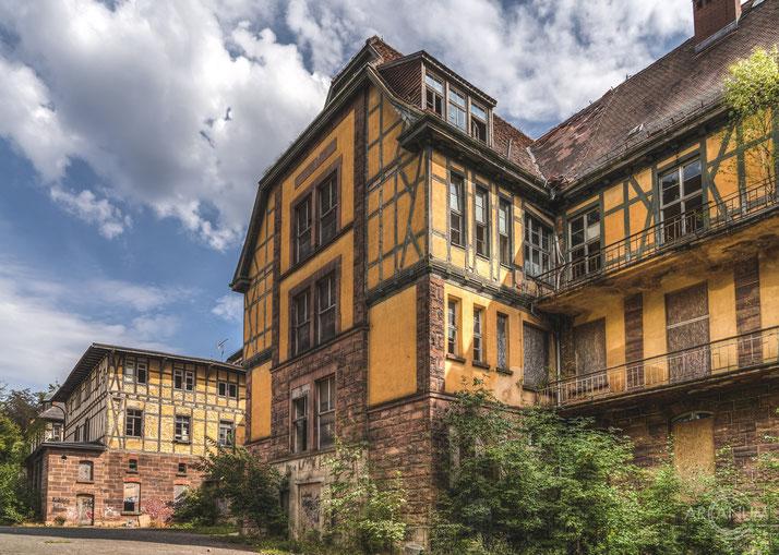Abandoned Sanatorium in Thuringia | Sophienheilstätte