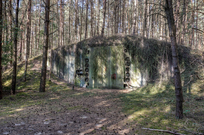 Command Post Bunker of the East German Army