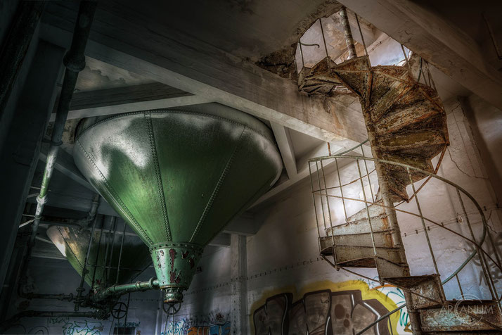 Abandoned Malt Factory in Dresden