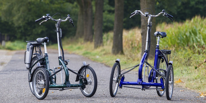 e-Bike Dreiräder
