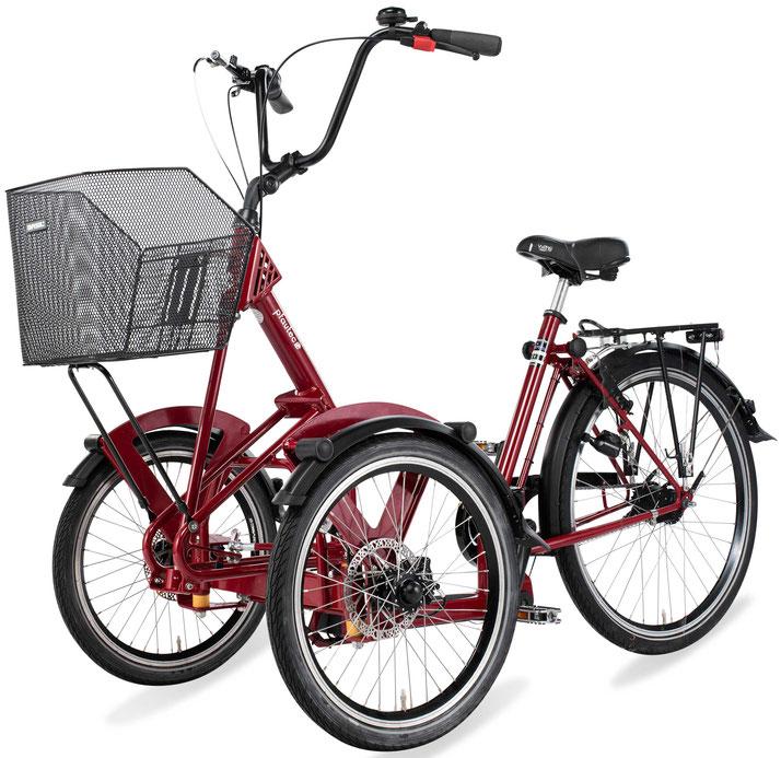 Dreirad für Erwachsene Pfau Tec Primo