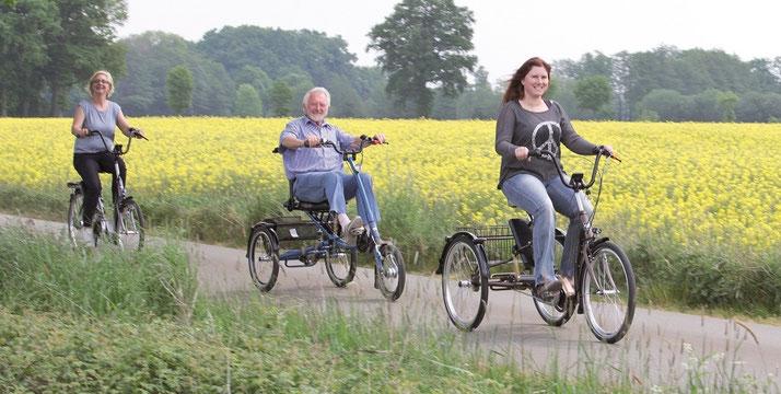 Dreiräder für Erwachsene bei Ihrem Dreirad-Zentrum