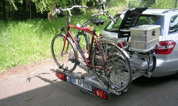 Dreirad Heckträger für's Auto