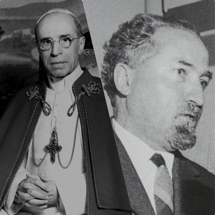 Papa Pio XII e Gustavo Bontadini