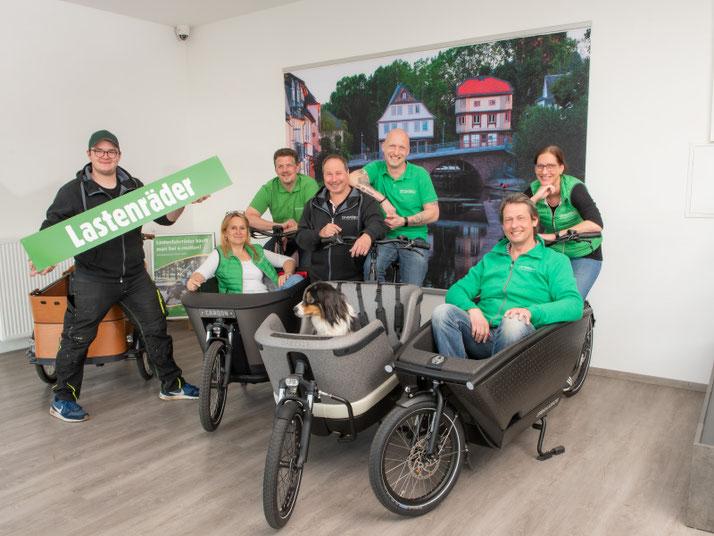 Lastenfahrrad-Zentrum Bad Kreuznach, kostenlose Beratung und Probefahrt bei unseren Experten