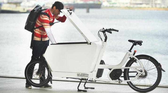 Lastenräder für Handwerker