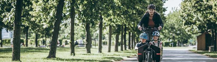 Lastenräder für den Umweltschutz