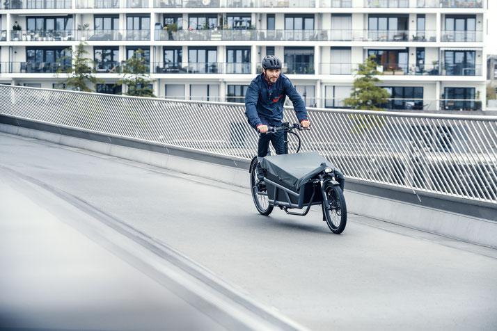 Riese und Müller e-Cargobike, Lasten e-Bike, Lastenfahrrad mit Elektroantrieb Load 2022