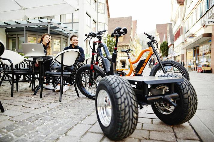 XCYC Pickup Performance Lasten e-Bike / Lastenfahrrad mit Elektromotor 2019 mit Bosch Antrieb