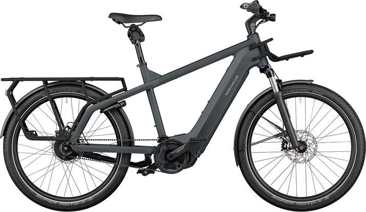 Riese und Müller e-Cargobike, Lasten e-Bike, Lastenfahrrad mit Elektroantrieb Multicharger GT rohloff 2022