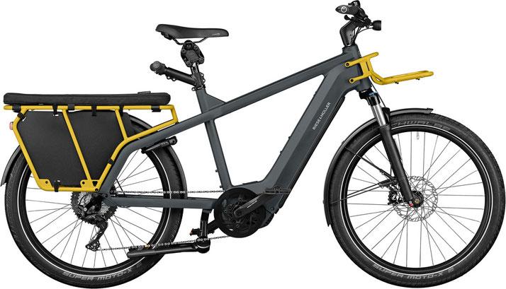 Riese und Müller e-Cargobike, Lasten e-Bike, Lastenfahrrad mit Elektroantrieb Multicharger GT light 2022