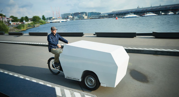 Urban Arrow Tender Lastenrad/ Lasten e-Bike 2020