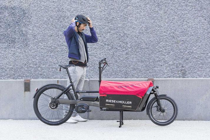 Lastenfahrräder als Zusteller-Fahrzeug in Berlin