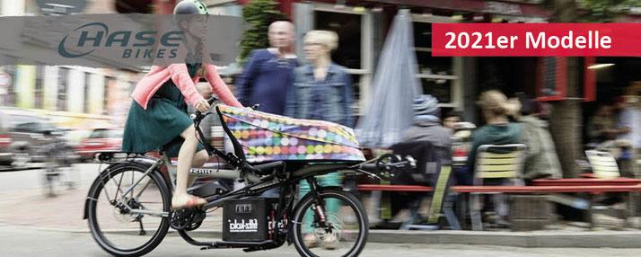 Hase e-Bikes - 2021er Modelle