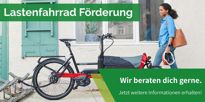 Lasten e-Bike Förderung in Berlin - jetzt beantragen