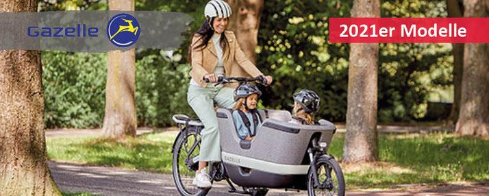 Gazelle Lasten e-Bikes - 2021er Modelle