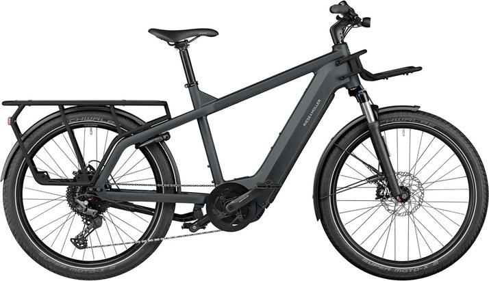 Riese und Müller e-Cargobike, Lasten e-Bike, Lastenfahrrad mit Elektroantrieb Multicharger GT touring 2022