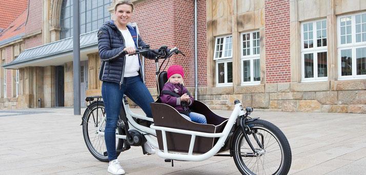 Pfau-Tec Carrier, Lasten e-Bike, Lastenrad mit Elektromotor, Cargo e-Bike 2020