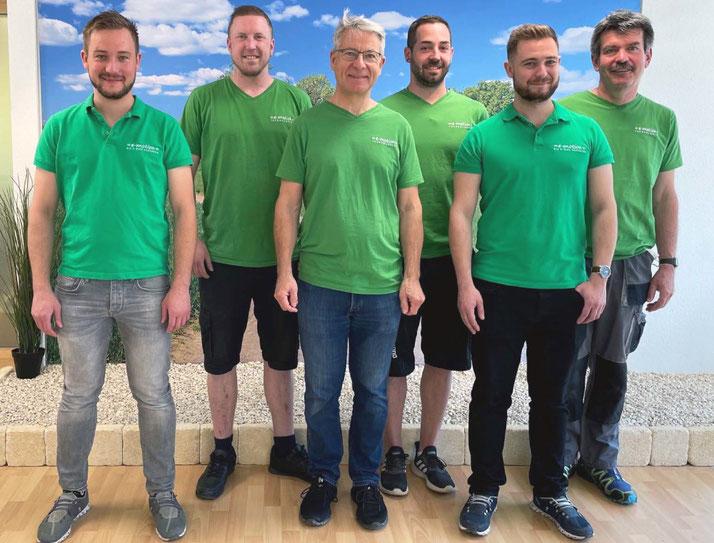 Das Team im Lastenfahrrad-Zentrum Egerkingen