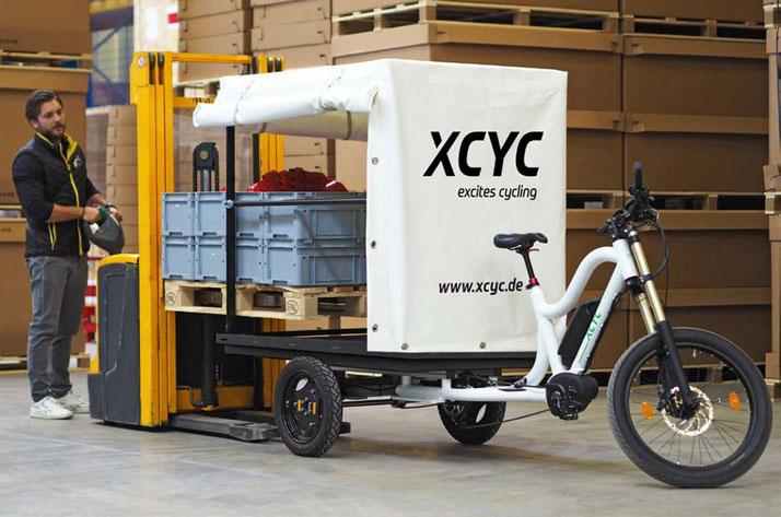 XCYC Pickup Work 2.0 Lasten e-Bike / Lastenfahrrad mit Elektromotor 2019 mit Bosch Antrieb