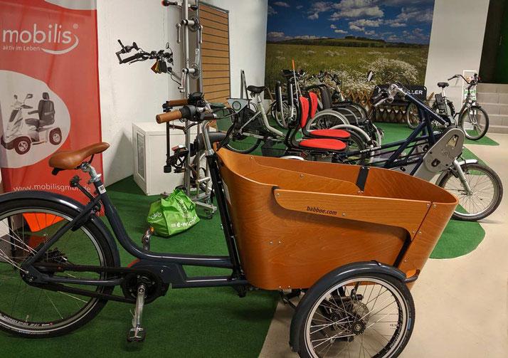 Lasten e-Bikes kaufen beim Experten im Lastenfahrrad-Zentrum Göppingen