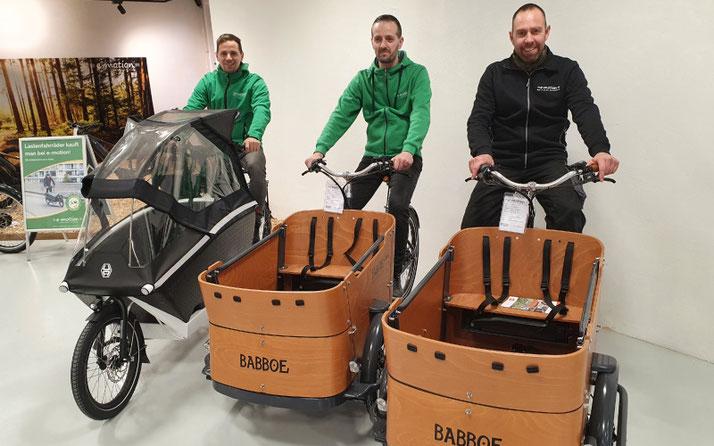 Veit, Lasten e-Bike Experte des Lastenfahrrad-Zentrums Pforzheim