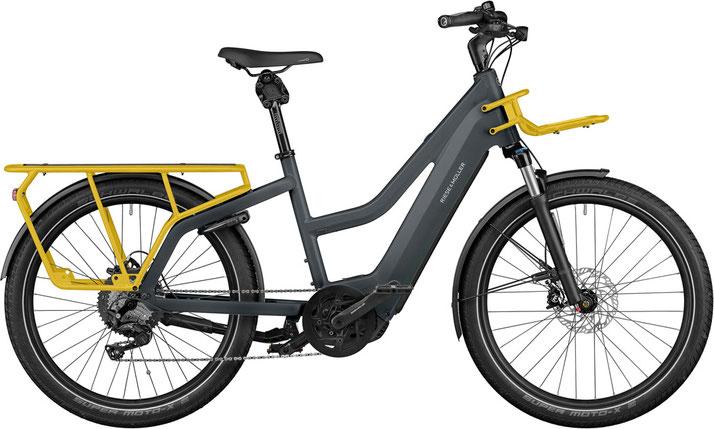 Riese und Müller e-Cargobike, Lasten e-Bike, Lastenfahrrad mit Elektroantrieb Multicharger Mixte GT Touring 2021