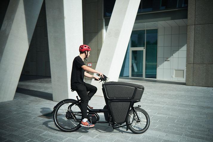 Umweltfreundliche Lieferung mit dem Urban Arrow Shorty Business