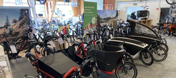Trendzug Lasten e-Bikes