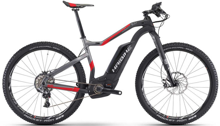 Haibike XDURO HardSeven Carbon 10.0 - 2017