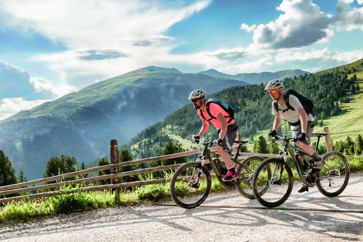 Schnelle e-Mountainbikes: Spassfaktor verdoppelt