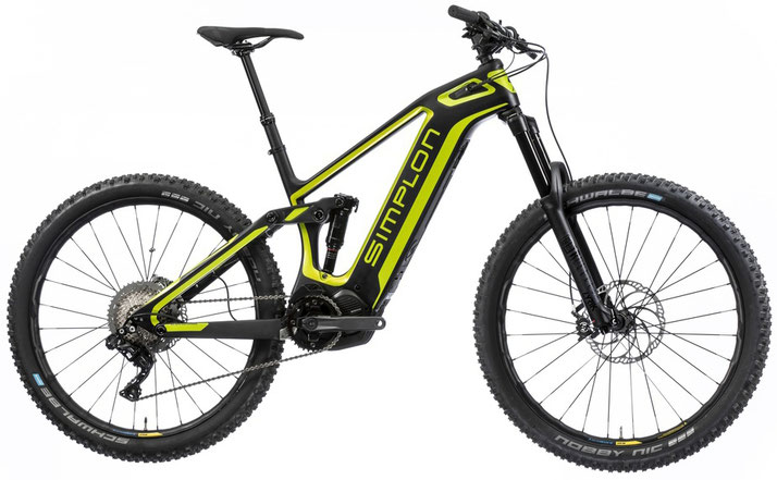 Simplon Steamer Carbon Di2 e-Mountainbike 2019