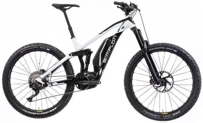 Simplon Steamer Carbon e-Mountainbikes 2019