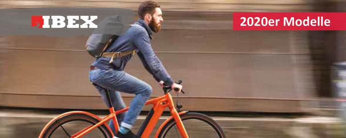 IBEX Clever & Smart 2020 City e-Bikes, Trekking e-Bikes, e-Mountainbikes, S-Pedelecs