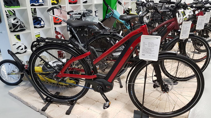 e-Bikes mit Bosch-Powertube-Akku