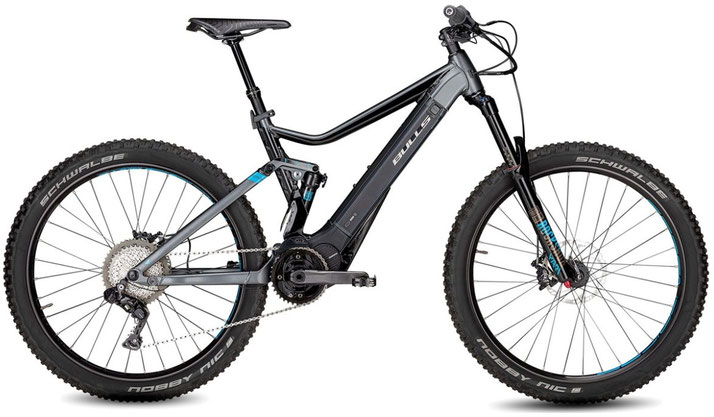 Bulls E-Core Evo AM Di2 27,5+ e-Mountainbike 2019