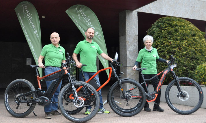 e-Bikes kaufen und kostenlos Probefahren in der e-motion e-Bike Welt Hombrechtikon